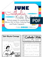 June 2016 Catholic Kids Bulletin