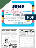 June 2016 Catholic Kids Bulletin