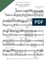 Por Que Sofre (Piano)