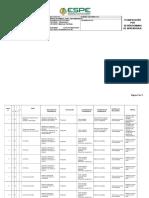 Matriz de Planificacion