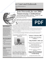 Stewards of the Coast and Redwoods Newsletter, Fall 2005