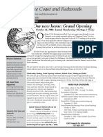 Stewards of the Coast and Redwoods Newsletter, Fall 2004