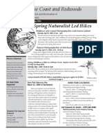 Stewards of the Coast and Redwoods Newsletter, Spring 2004