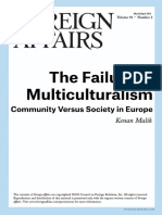FA - The Failure of Multiculturalism