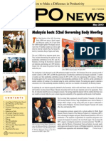 Monthly Newsletter of the Asian Productivity Organization (APO) – May 2010 issue