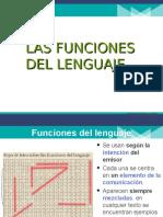 Funciones lenguaje