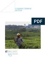 Mitigating Climate Change in the Tea Sector