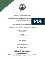 Guia Clasificaciòn y Valoración de Cargos II Abril 2016 - Agosto 2016