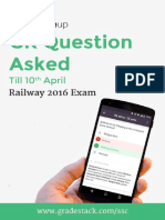 Railway Exam Questions
