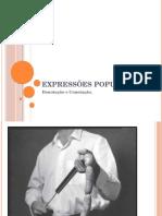 Expressões Populares Denotacao e Conotacao