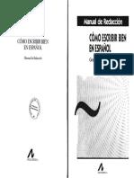 Lengua española - Reyes, Graciela - Cómo escribir bien en español. Manual de redacción.pdf