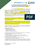 FORMATO ACTA DE APERTURA DEL PROCESO DE CONVOCATORI