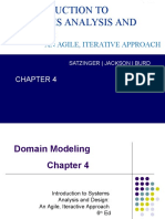 Systems analysis and design agile iterative approach chapter 4