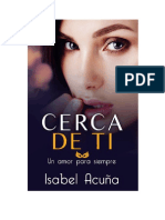 Acuña Isabel Cristina - Un Amor Para Siempre 03 - Cerca de Ti