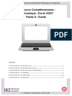 RC-Outils Tableur Excel 2007