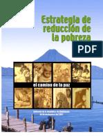 Estrategia de Reduccion de La Pobreza - Guatemala