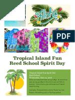 tropical island fun day
