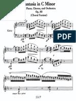 Beethoven Choral Fantasy
