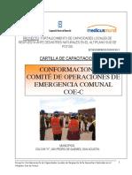 Conformacion Del Comite de Operaciones de Emergencia Comunal
