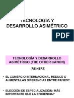 Tecnología y Desarrollo Asimétrico