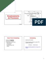 SLIDES 6B Escalonamento Processos
