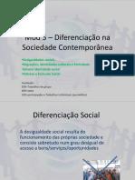 Mod 5 – Diferenciação Na Sociedade Contemporânea - Sociologia 5