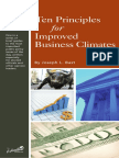 10 Principles for Improving Business Climate