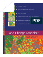 Land Change Modeler ArcGIS Software Brochure