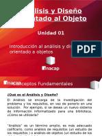 Tema 01 - Introduccion Al Diseño Orientado a Objeto
