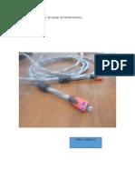 Cable Dañado Al Retirar de Laptop de Mantenimiento