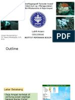 Mikrofilogeografi Tunicata Invasif (Didemnum Sp