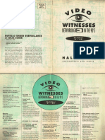 Video Witnesses 3 catalogue