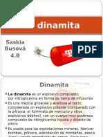 La Dinamita - Saskia Bursová (Presentación Nueva) (1)