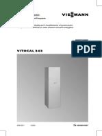 Vitocal 343 01 2006