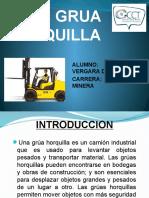 Grua Horquilla Powerpoint