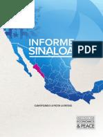 Informe de la paz Sinaloa 2014