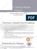 atomic theory models