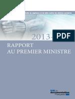 rapport-au-premier-ministre 2013-2014 miviludes