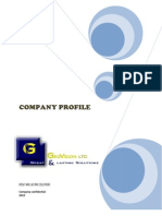Geovision Company Profile