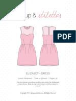Elizabeth Dress Compressed Spit Up Stilettos