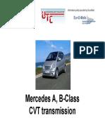 Mercedes a-B-Class CVT Transmission-1