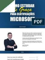 Como Estudar de Graça Para Certificações Microsoft