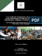 Condición de Inmigrante y Negritud en Barcelona y Santo Domingo - Tesis Giliberti 2013
