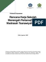 Pedoman Penyusunan RKS-M SMP-MTs Edisi Agustus 2009 - DP Edit