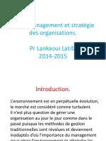 Management Et Stratégie Des Organisations