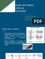 Processo de Laminação de tubo sem costura