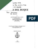 Teoria Del Buque Bonilla