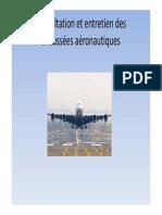 Auscultation Et Entretien Des Chaussées Aéronautiques