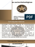 Sociologia do Crime teorias criminológicas.ppt