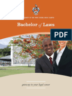 UWI Law Brochure